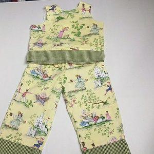 Cheeky Kiki pants and top set